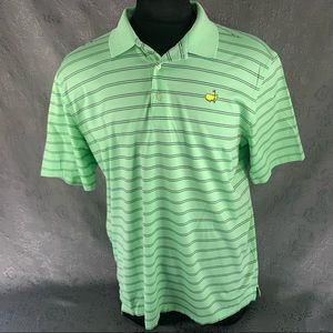 Master Collection Green and Black Striped  XL